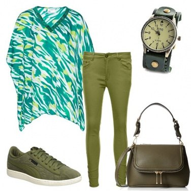 Outfit Verde per me