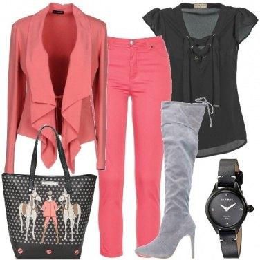 Outfit La borsa con i cavalli