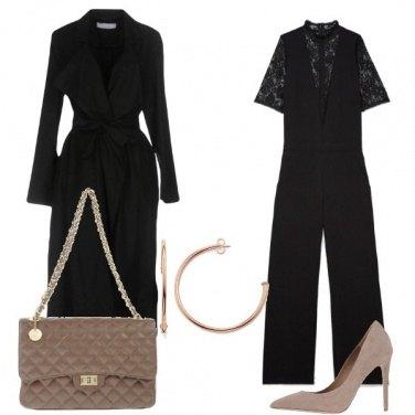 Outfit Nero e pizzo