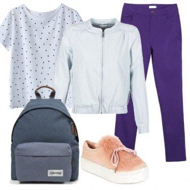 Outfit A scuola con brio