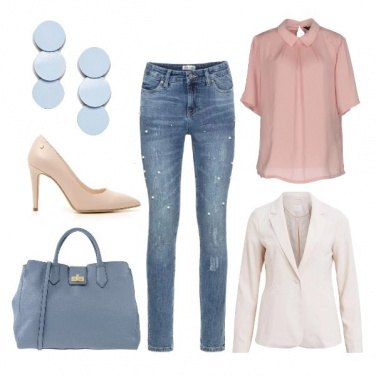 Outfit Jeans e tacchi