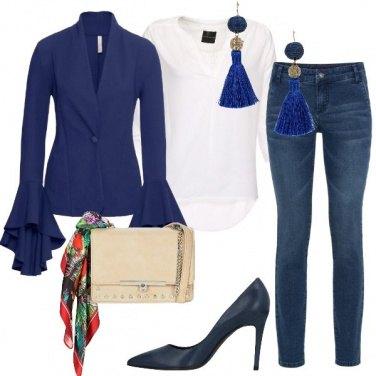 Outfit Blu è il mio colore preferito