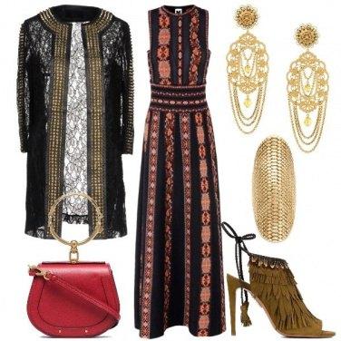 Outfit Combinazione Etno Folk