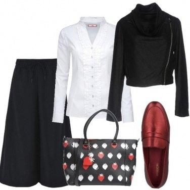 Outfit Mocassini in ufficio