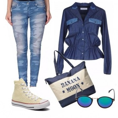 Outfit A tutto jeans!