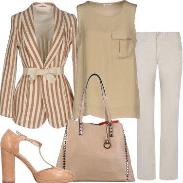 Outfit Il blazer a righe