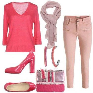 Outfit Tutte le sfumature di rosa