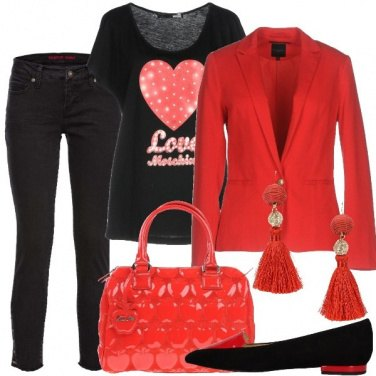 Outfit Cuori e mele