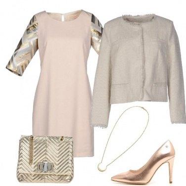 Outfit Rosato e oro