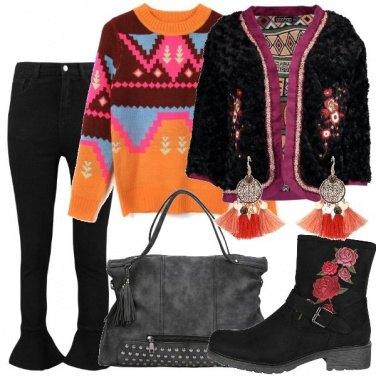 Outfit Un po\' bohémienne