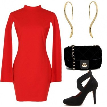 Outfit Rosso sexy