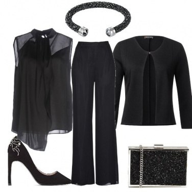 Outfit Nero da cerimonia