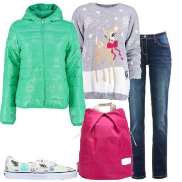 Outfit Con le sneakers basse