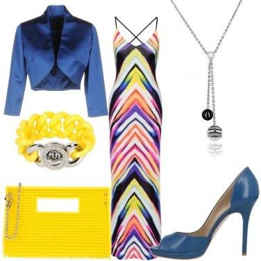 Outfit L\'abito multicolore