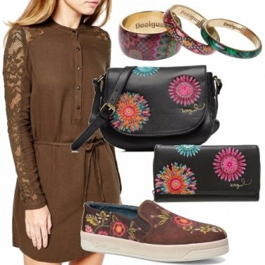 Outfit Accessori in fantasia