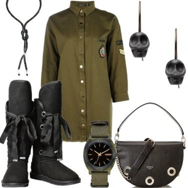 Outfit Facce da teschio