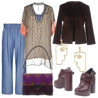 Outfit La giacca di velluto a coste