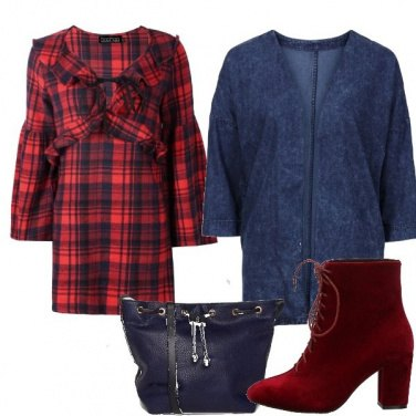 Outfit Stivaletto rosso