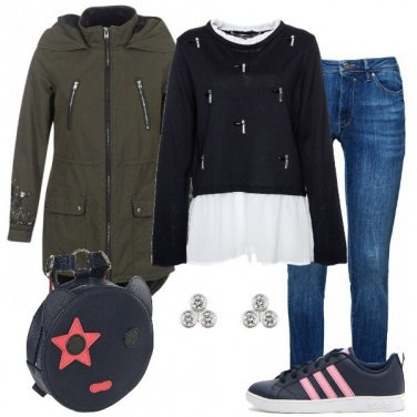 Outfit Outfit Basic #1362-2018