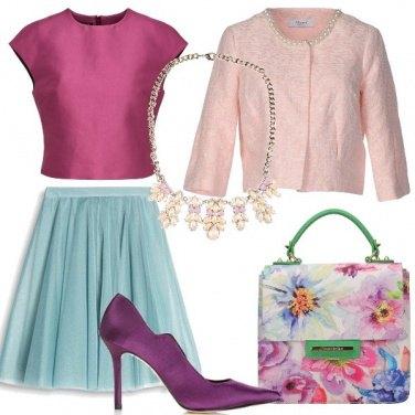 Outfit Delicata come un fiore