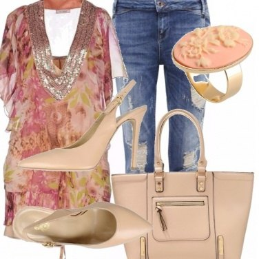 Outfit Camei e jeans