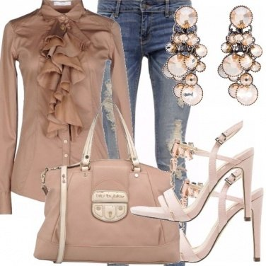 Outfit Ruches casual chic