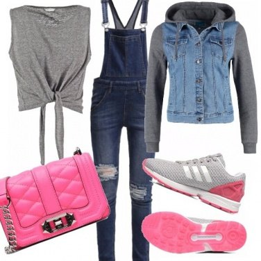 Outfit You and the hot pink