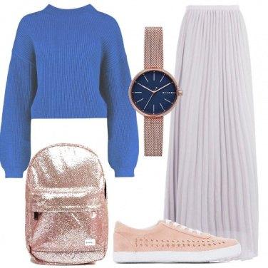 Outfit Come abbinare una gonna lunga