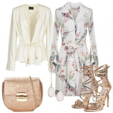 Outfit Serata in bianco