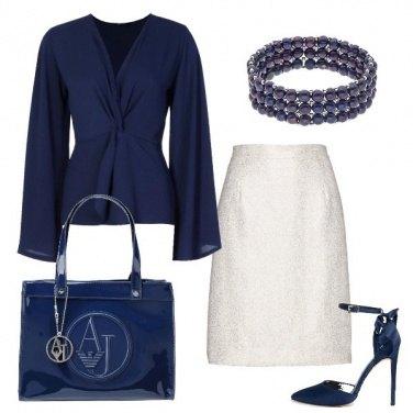 Outfit Una sera in blu