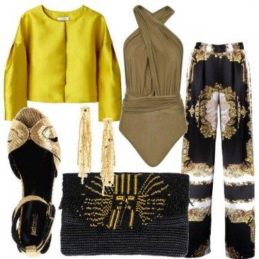Outfit Il body con lo scollo incrociato