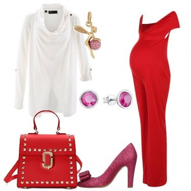 Outfit Mammina in jumpsuit