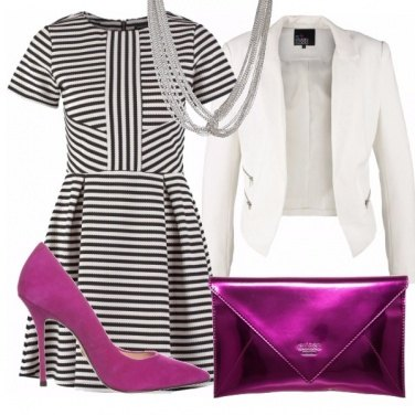 Outfit Pink Lines