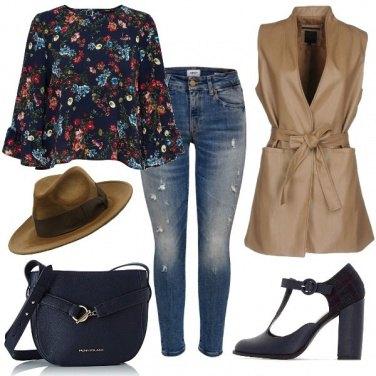 Outfit Smanicato in similpelle