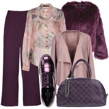Outfit Il viola portafortuna
