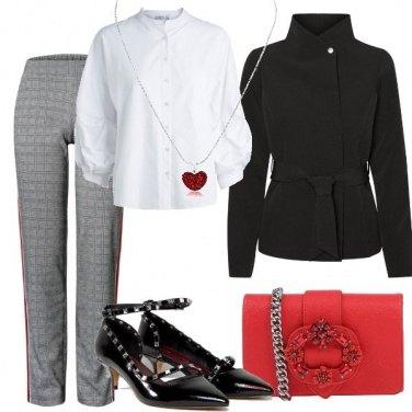 Outfit Un cuore rosso