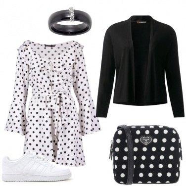 Outfit Signorina a pois