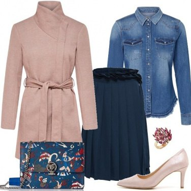 Outfit Jeans elegante