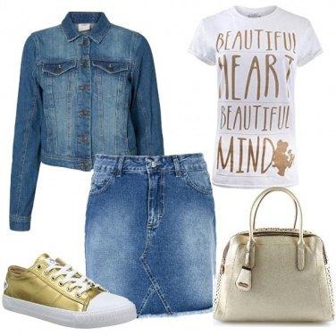 Outfit Un cuore d\'oro