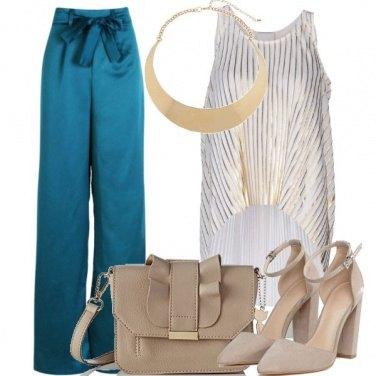 Outfit Pantaloni ampi
