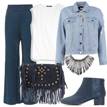 Outfit Denim I love you