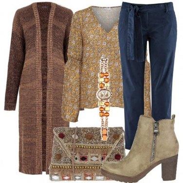 Outfit Una borsa dal sapore etnico