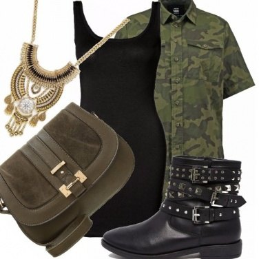 Outfit Diversamente camicia