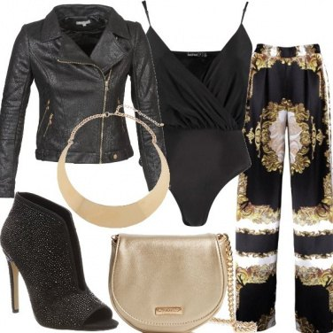 Outfit Luce o oro