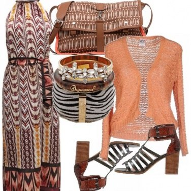 Outfit Etnico chic!