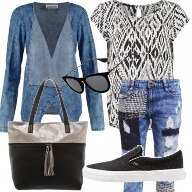 Outfit Donna graffiti!