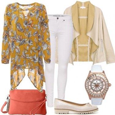 Outfit Pantaloni bianchi