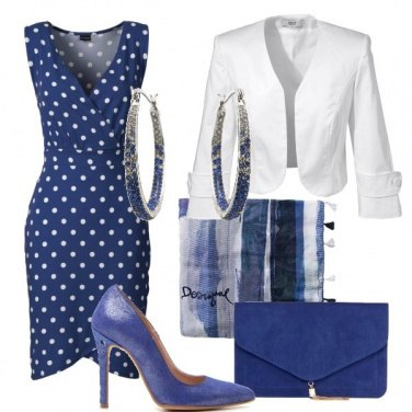 Outfit L'abito a pois