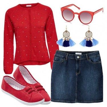 Outfit Orecchini con nappe multicolore