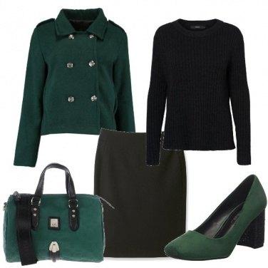 Outfit Profondo verde